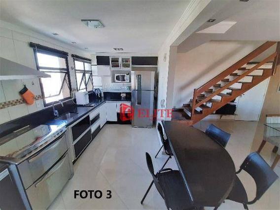 Cobertura Com 3 Dormitórios À Venda, 147 M² Por R$ 650.000,00 - Jardim América - São José Dos Campos/sp - Co0072