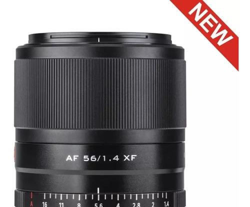 Lente Viltrox 56mm F1.4 Xf Foco Automática P Fuji + Brinde