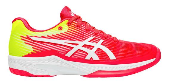 Calzado Asics Tennis Solution Speed Ff Mujer Rojo