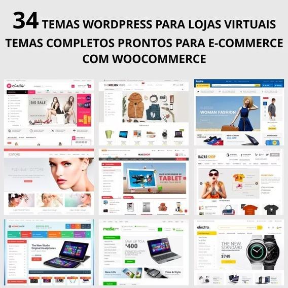 Temas Wordpress Para Loja Virtual - Woocommerce - 34 Temas