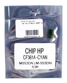 Chip Para Hp Hp Cf361a 508a Cyan M552 M553 M577 5k