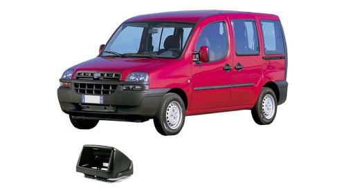 Imagem 1 de 3 de Moldura 2din Fiat Doblô 2000 Em Diante Preta Jp/ch - Expex