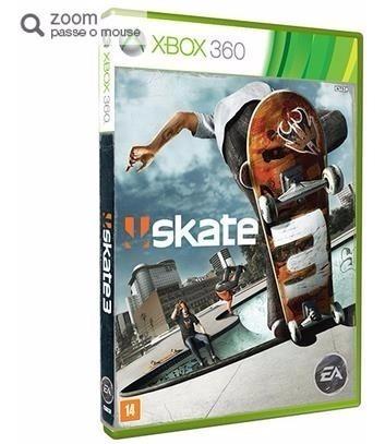 Jogo Skate 3 - X360 (mídia Física)