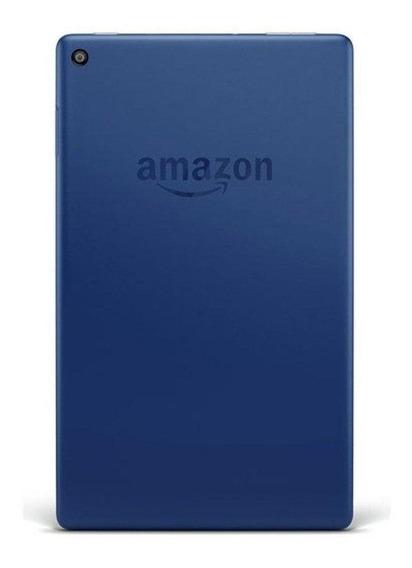 "Tablet Amazon Fire HD 8 KFKAWI 8"" 16GB marine blue com memória RAM 1.5GB"