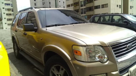 Ford Explorer Xlt Año 2009 Motor 8 Cilindros Color Arena