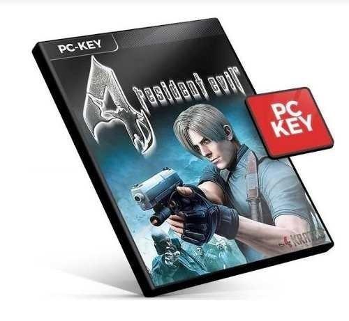 Resident Evil 4 Re4 Pc Steam Key Código 15 Dígitos Envio Já