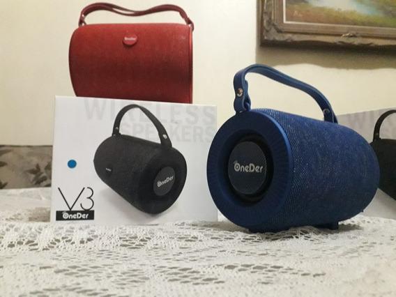 Corneta Speaker Inalambrica Bluetooth Oneder V3
