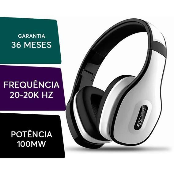 Headphone Pulse Bluetooth Over-ear Stereo Branco Ph152