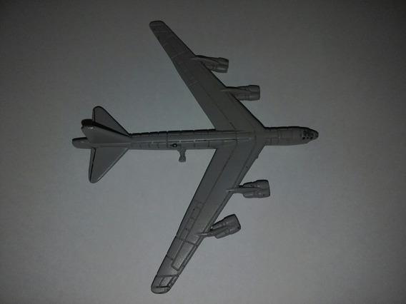 Miniatura Em Metal Do Avião B-52h Stratofortress Maisto