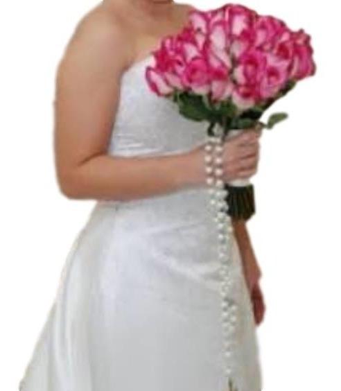 Terço Para Noivas Em Pérolas- Prata-casamento