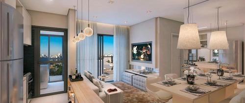 Apartamento Com 2 Dormitórios À Venda, 65 M² Por R$ 923.373,00 - Mirandópolis - São Paulo/sp - 9645