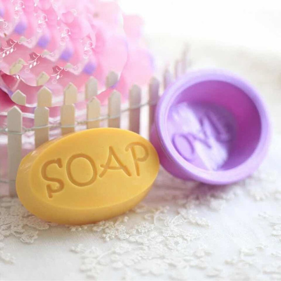 Molde De Silicona Jabón Soap