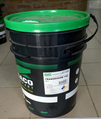 Aceite Transmision 140 Balde/tacho 20lt. Kansaco
