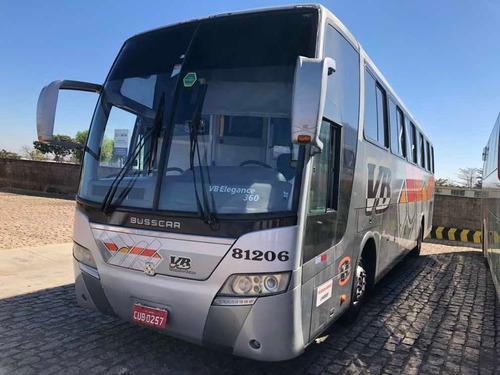 Ônibus Rodoviário Busscar Elegance Scania Completo 2009