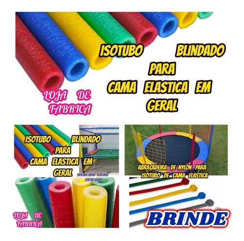Isotubo Blindado Para Cama Elastica Kit Com 12+brinde