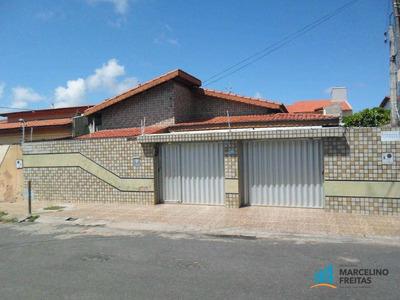 Casa Residencial À Venda, Montese, Fortaleza - Ca0797. - Ca0797