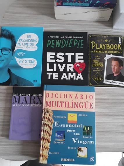 Lote De Livros Diversos