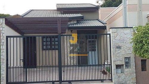 Requintada Casa Com 2 Dormitórios À Venda, 87 M² Por R$ 425.000 - Jardim Novo Campos Elíseos - Campinas/sp - Ca13784
