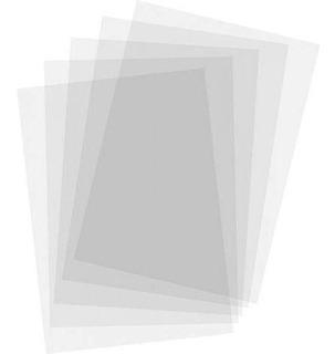 50 Laminas Hojas Transparentes De Acetato Para Proyector