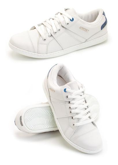 Zap Narrow Pegada/cosida Cuero -32153-blanca