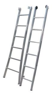 Escada Extensível Alumínio Dupla 2x13 Degraus Alulev