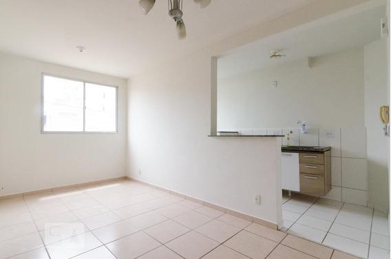 Apartamento No 1º Andar Com 2 Dormitórios E 1 Garagem - Id: 892816758 - 116758