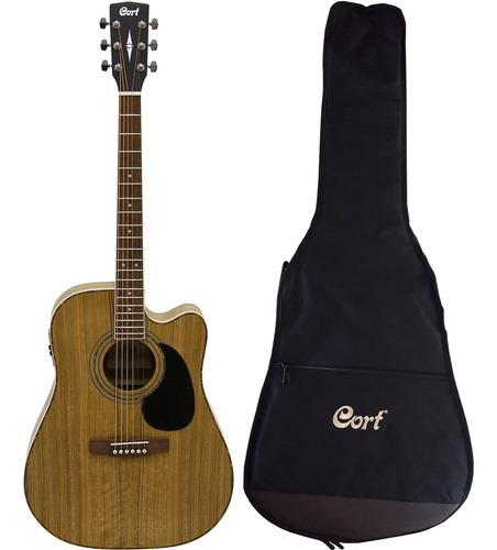 Violão Cort Folk Ad-880ce Daoop/b + Bag