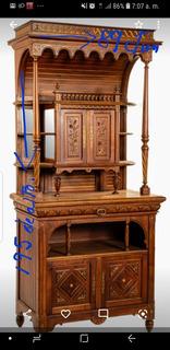 Mueble Antiguo De Comedor 195 De Altox89 Ancho.