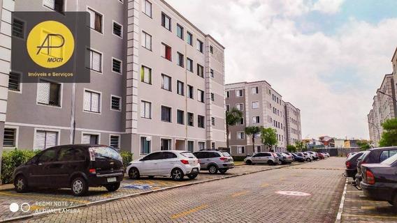 Apartamento Com 1 Dormitório À Venda, 40 M² - Conjunto Residencial Do Bosque - Mogi Das Cruzes/sp - Ap0207