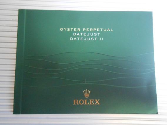 Original Rolex Date Just Ii Manual Con Envio Gratis