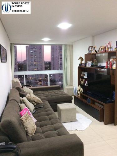 Imagem 1 de 15 de Apartamento Com 3 Dormitórios, 1 Suíte E 3 Vagas Em São Caetano - 2715