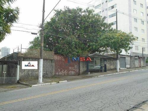 Terreno À Venda, 2400 M² Por R$ 8.400.000,00 - Limão (zona Norte) - São Paulo/sp - Te0060