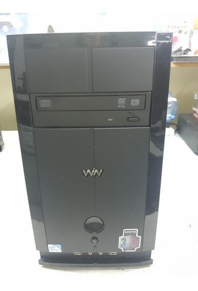 Computador Cce Win C23 Celeron 847 4gb Hd 320gb Seminovo