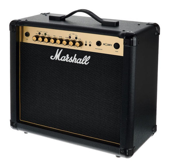 Combo Marshall Mg30gfx Gold 30w