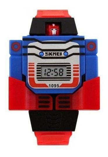 Relógio Infantil Skmei Digital 1095 Vermelho