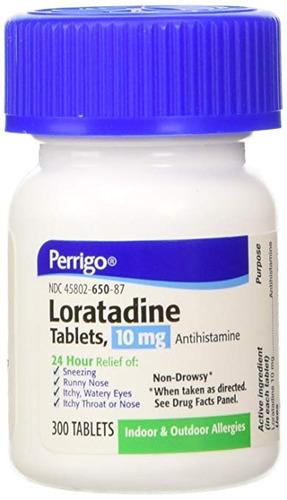 Imagen 1 de 3 de Loratadina Tab 10mg 300 Tabletas