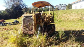 Trator De Lamina D4 E Caterpillar Ano 1990