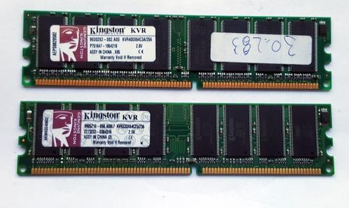 Memorias Ddr Kingston 256mb - Kvr400/kvr333