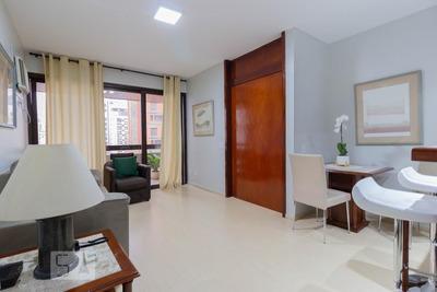 Apartamento No 9º Andar Mobiliado Com 1 Dormitório E 1 Garagem - Id: 892929361 - 229361