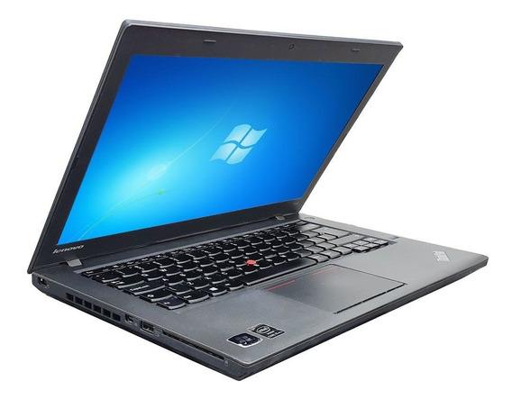 Notebook Lenovo Thinkpad T440 Core I5 4gb Ssd 120gb Wifi