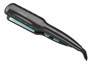 Plancha de cabello Remington Wet2Straight negra con placas de cerámica 110V - S7231
