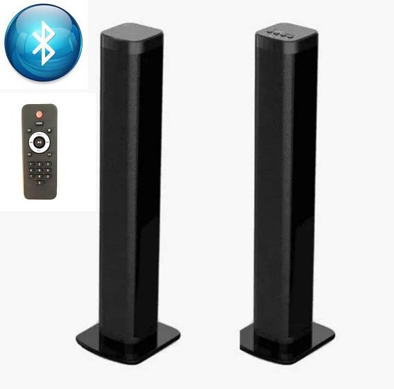Tv Soundbar 2x15w Speaker Som Bluetooth Altomex Al-830 Contr