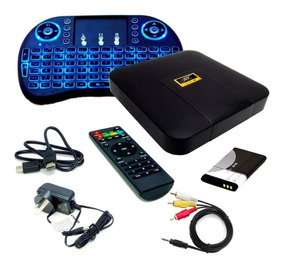 Convertidor Smart Tv Convertir Tv Box Android Teclado Combo