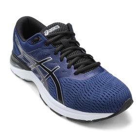 Tênis Running Asics Masculino Gel Flux A 1z21a008 Azul/preto
