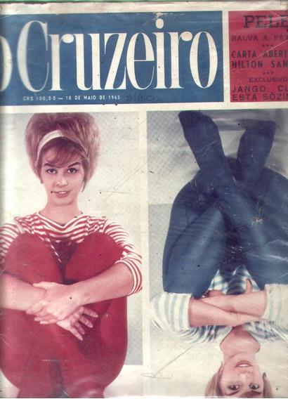 O Cruzeiro 1963.iris.pelé.jango.rio De Janeiro.belém.ernesto