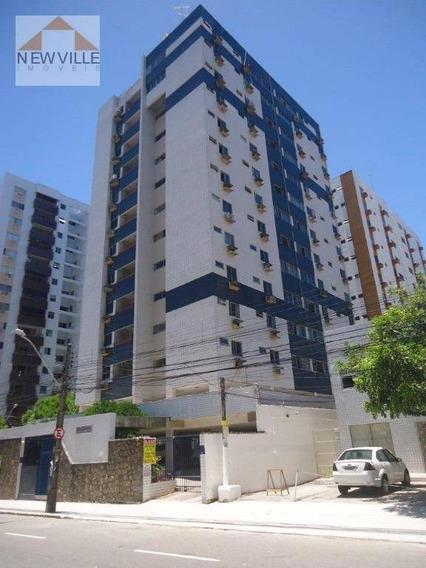 Apartamento Com 3 Quartos Para Alugar, 85 M² Por R$ 1.940/mês - Boa Viagem - Recife/pe - Ap1137
