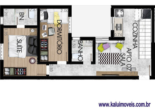 Pq. Das Nações - Apartamento Cobertura - 69890