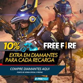 Free Fire 285 Diamantes + 29 Bônus Recarga P/ Conta