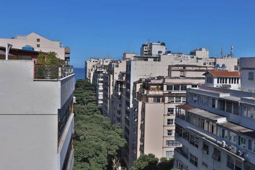 Cobertura Linear Em Copacabana! - Co0697