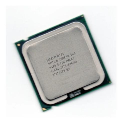 Imagem 1 de 1 de Processador Intel Core 2 Duo E4300 1.80ghz 2m 800 Sl9tb 775